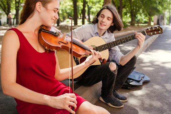 L'art de la musique et de la culture